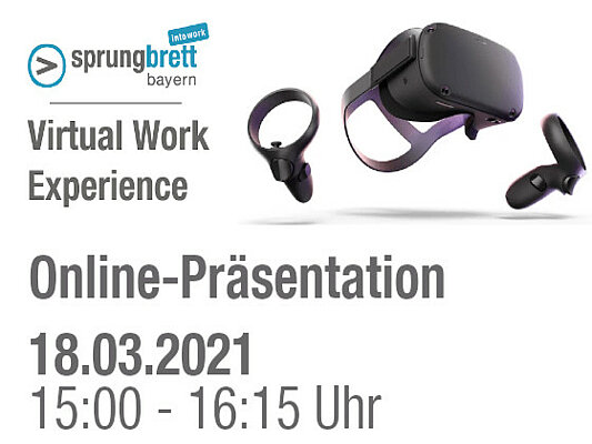 Online-Präsentation der Virtual Work Experience